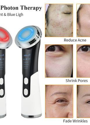 Скрабер для лица Ultrasonic ion cleaner