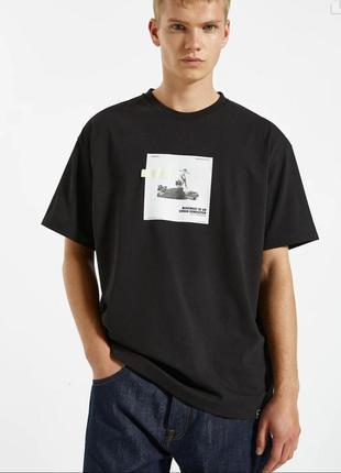 Мужская футболка как zara