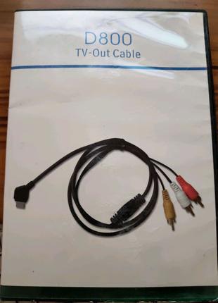 Кабель USB Samsung D800 TV-OUT