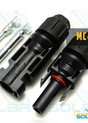 Коннектор MC4 (для солнечных электростанций)