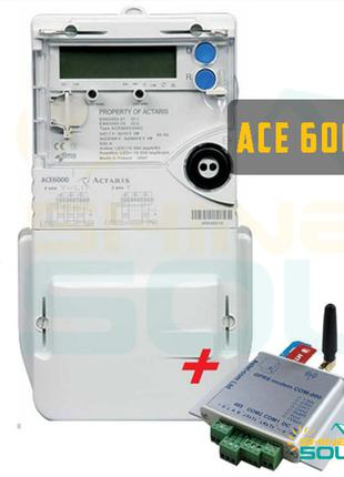 Электросчетчик АСЕ-6000(ACE 6000) + GSM/GPRS модем для зеленого т