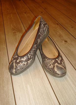 Туфли кожаные размер 35/5-36