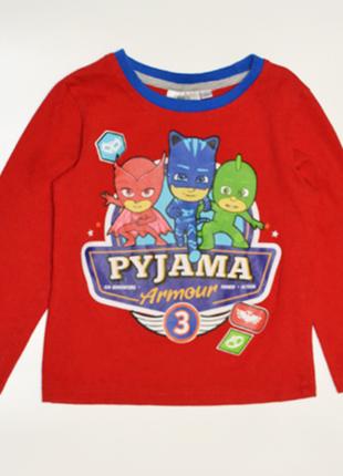 Красная футболка pj masks на мальчика 4 года