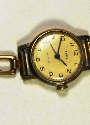Продам женские позолоченные часы «Заря» СССР