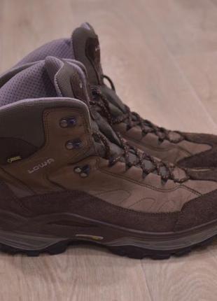 Lowa мужские зимние ботинки коричневого цвета