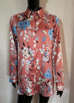 Скидка дня красивая блуза цветочный принт