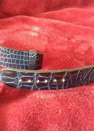 Ремешок для часов кожи крокодила, питона, змеи