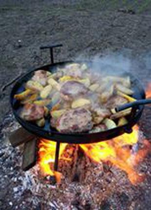 Сковорода из диска бороны + крышка + чехол 40 см