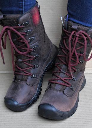 Ботинки высокие keen greta tall waterproof 1023609 оригинал wa...