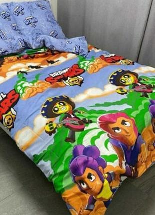 Комплект постельного белья бравл старс.