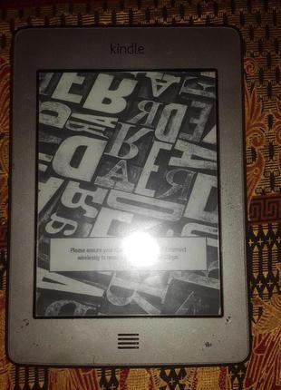 Электронная книга Amazon Kindle 4 Touch