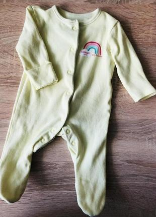 Человечек primark для новорождённого 50-56 см 0-3 месяца до 4 ...