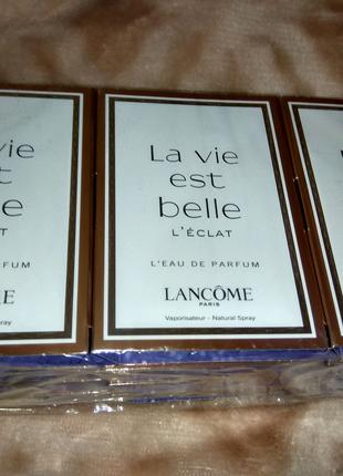 Пробники La vie est belle Lancome