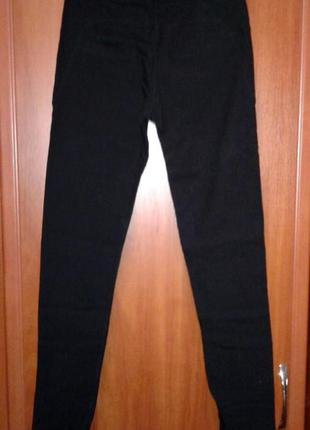 Штаны черные леггинсы