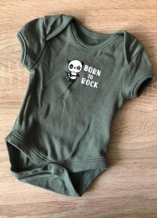 Боди с коротким рукавом primark до 3,5 кг для новорождённого 0...