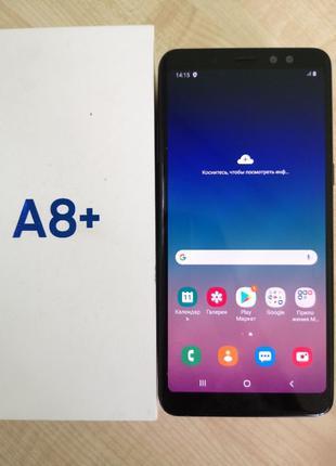 Смартфон Samsung Galaxy A8 Plus A730F (16426) Уценка