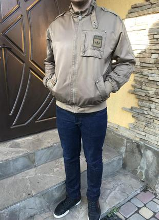 Крутая ветровка куртка бомбер из коллекции safety