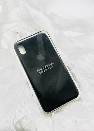 Новый🍏 чехол на apple iphone xs max black чёрный