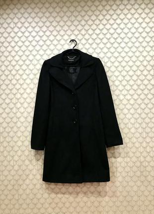 Шикарное женское пальто guess из натуральной шерсти
