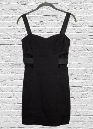 Черное короткое платье коктейльное, короткое платье вечернее, ...