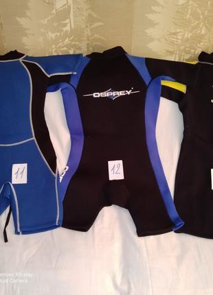 Водні види спорту костюми