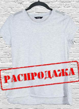 Базовая серая футболка с сеткой на спине, приталенная футболка...