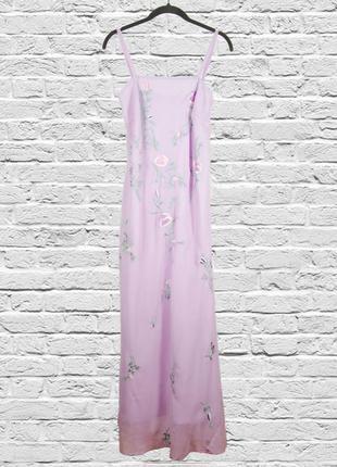 Длинный сарафан в бельевом стиле, длинное платье в пол, платье...