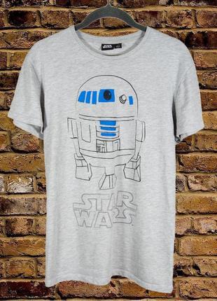 Серая футболка звездные войны, мужская футболка star wars