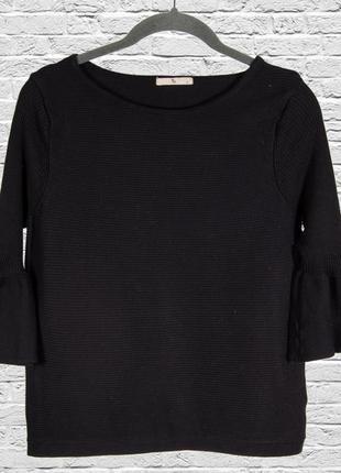 Черный свитер женский, черный пуловер, черный джемпер, свитер ...