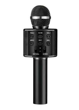 Микрофон WS-858 WSTER BLACK