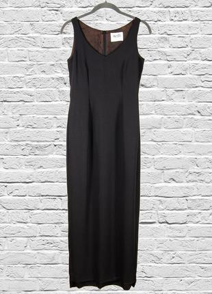 Черный сарафан длинный, длинное платье черное, черное платье в...