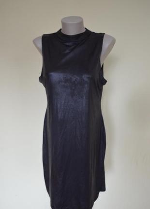 """Маленькое черное платье в стиле шанель """"под кожу"""""""