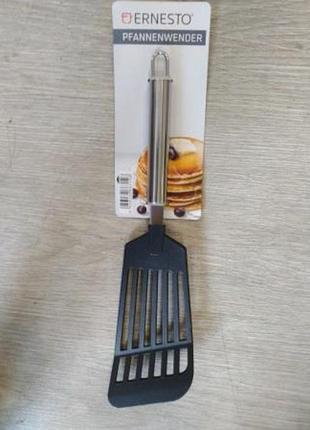 Кухонная лопатка ernesto черный-металик