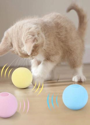 Интерактивная игрушка (мячик) для кошек