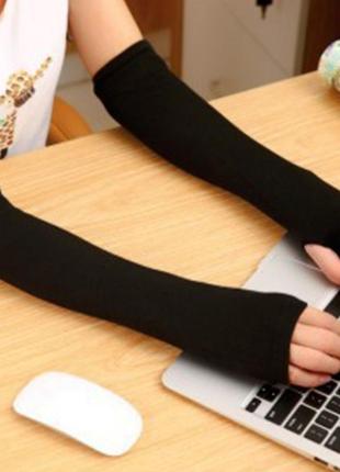 Рукава-перчатки на Осень ! Для девушек !