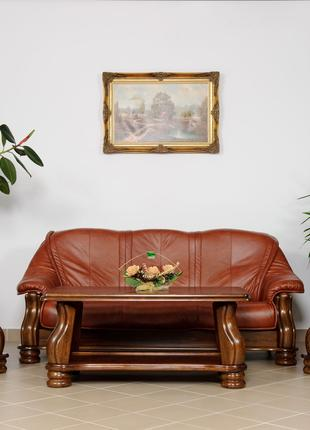 Новый кожаный диван и 2 кресла Cabaro - Кожаная мебель. Шкіряний