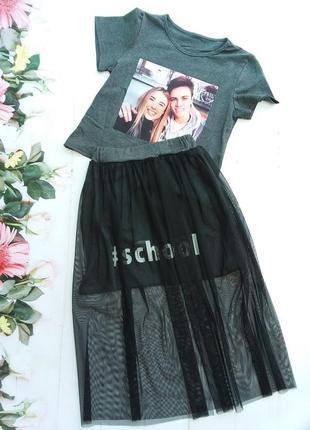 Модный детский комплект для девочки