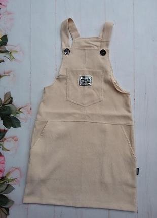 Модный детский сарафан.  ткань :вельвет