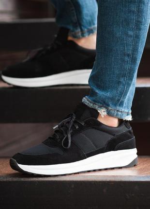 Мужские кроссовки south soft step black 41-42-43-44-45