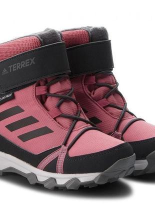 Детские зимние ботинки adidas terrex snow cp cw k (артикул: ac...