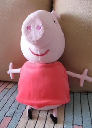 Peppa pig мягкая игрушка свинка Пеппа 40 см