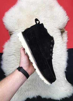Ugg classic short black. мужские чёрные угги зимние ботинки уги