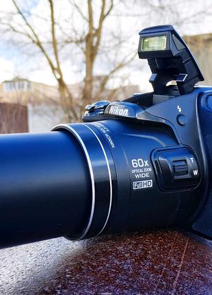 Nikon B700+4K Видео+60Крат Зум+WiFi,Супер Зум,Фотоапарат