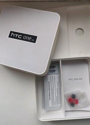 HTC One A9  коробка  со всей комплектацией.