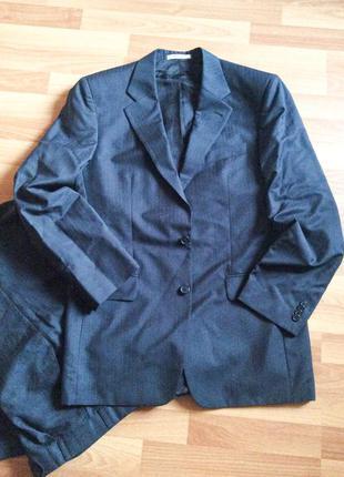 Деловой костюм мужской пиджак брюки