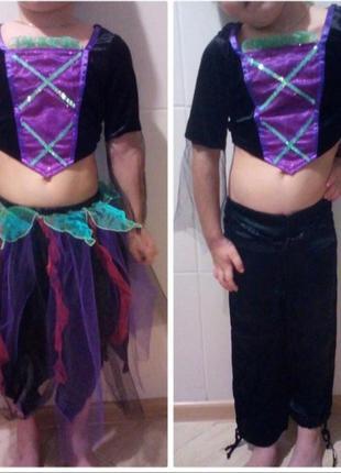 Карнавальный костюм,для танцев, хэллоуин на 3-4 годика
