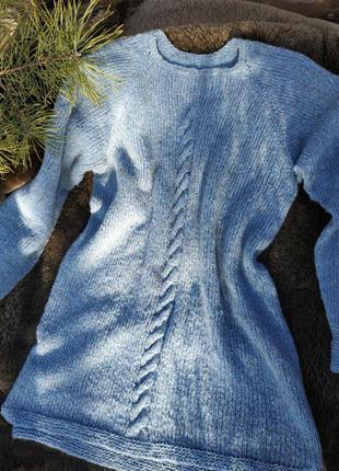 Теплый женский свитер 2020 - шерсть baby yak - ручная работа