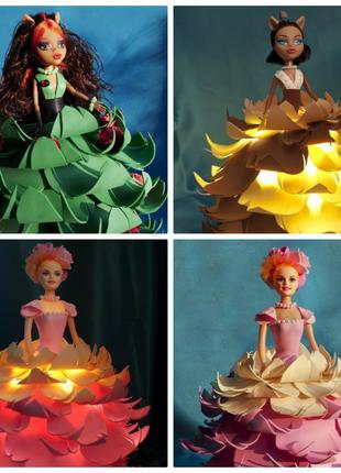 Светильник - кукла