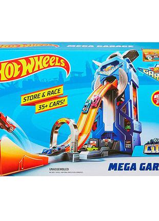 Трек Мега гараж Хот Вилс Hot wheels FTB68 Оригинал!