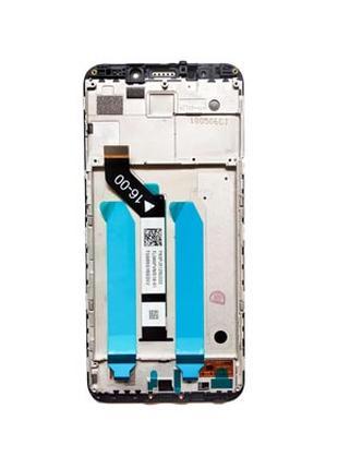 Xiaomi Redmi 5 plus дисплейный модуль с рамкой, экран, тачскрин